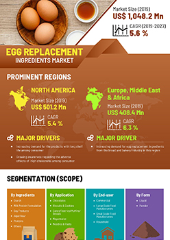 Egg Replacement Ingredients Market | Infographics |  Coherent Market Insights