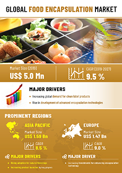 Food Encapsulation Market | Infographics |  Coherent Market Insights