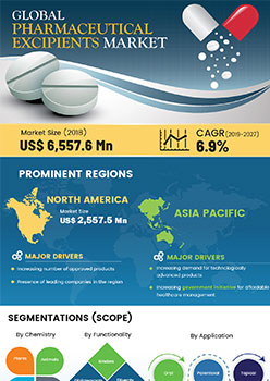 Pharmaceutical Excipients Market | Infographics |  Coherent Market Insights