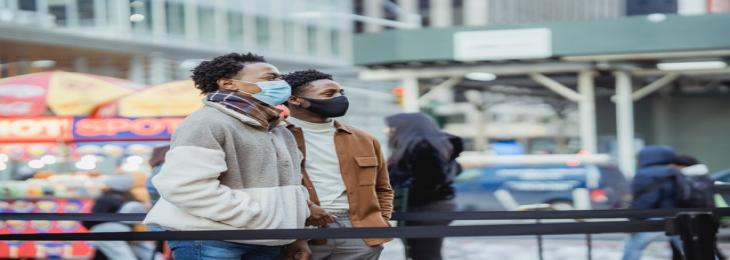 Use of Better Masks and proper ventilation in enclosed places can reduce the COVID-19 virus transmission